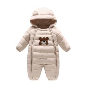 Комбинезон демисезонный детский Тедди, бежевый (код товара: 51248): купить в Berni