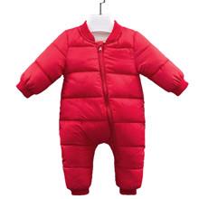 Комбинезон утепленный детский Медвеженок, красный (код товара: 51238)