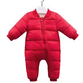 Комбинезон утепленный детский Медвеженок, красный (код товара: 51238): купить в Berni