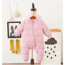 Комбинезон утепленный для девочки Медвеженок, розовый (код товара: 51240)