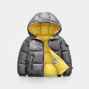 Куртка демисезонная детская Глянец, серый (код товара: 51270): купить в Berni
