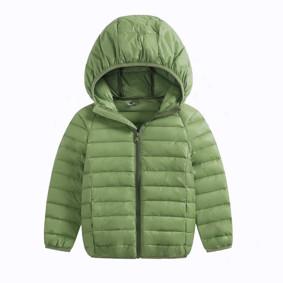 Куртка весенняя детская Полоска, зеленый (код товара: 51287): купить в Berni