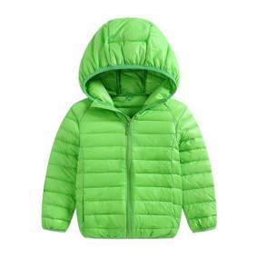Куртка весняна дитяча Смужка, салатовий (код товару: 51288): купити в Berni