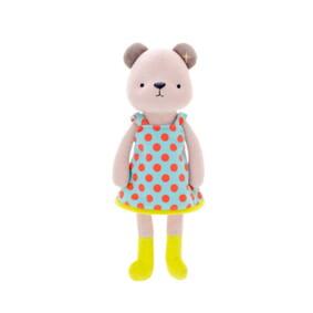 Мягкая игрушка Медвежонок в голубом платье, 35 см оптом (код товара: 51206): купить в Berni