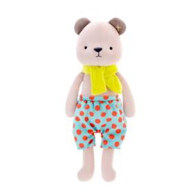 Мягкая игрушка Медвежонок в голубых шортах, 35 см оптом (код товара: 51205): купить в Berni