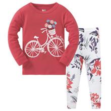 Пижама Цветы на велосипеде (код товара: 51220)