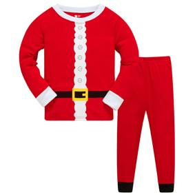 Пижама Костюм Санты, красный (код товара: 51231): купить в Berni
