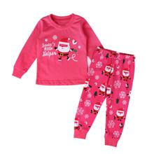Пижама Санта-Клаус, розовый (код товара: 51226)