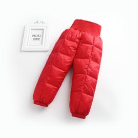Штаны демисезонные детские, красный оптом (код товара: 51255): купить в Berni