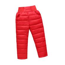Штаны демисезонные детские Полоска, красный (код товара: 51262)