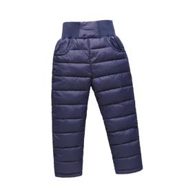 Штаны демисезонные детские Полоска, синий (код товара: 51263): купить в Berni