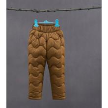 Штаны утепленные детские, коричневый (код товара: 51259)