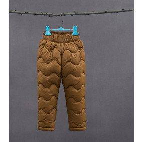 Штаны утепленные детские, коричневый (код товара: 51259): купить в Berni
