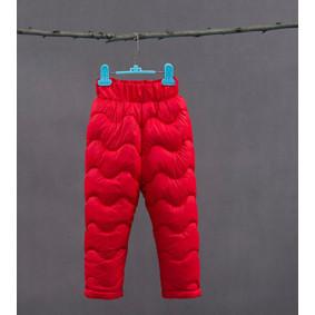 Штаны утепленные детские, красный оптом (код товара: 51257): купить в Berni