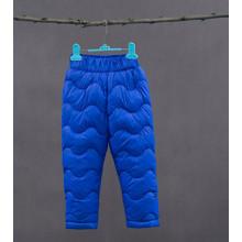 Штаны утепленные детские, синий (код товара: 51260)