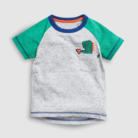 Футболка для хлопчика Динозаврик та машина (код товару: 51371): купити в Berni