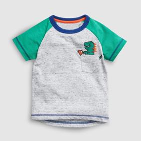 Футболка для мальчика Динозаврик и машина оптом (код товара: 51371): купить в Berni