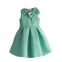 Платье для девочки Бант, бирюзовый (код товара: 51307)