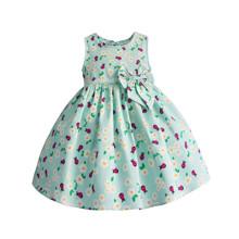 Платье для девочки Божья коровка, бирюзовый (код товара: 51304)