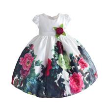 Платье для девочки Цветочный сад (код товара: 51394)