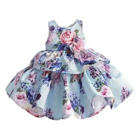 Платье для девочки Сирень (код товара: 51395): купить в Berni