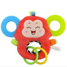 Мягкая игрушка - прорезыватель Счастливая обезьянка (код товара: 51401): купить в Berni