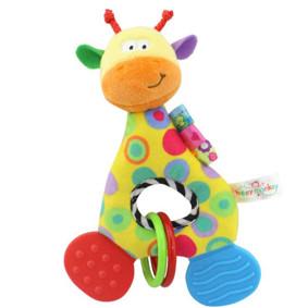 Мягкая игрушка - прорезыватель Веселый жираф (код товара: 51400): купить в Berni