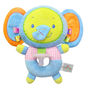 Мягкая игрушка-соска Голубой слонёнок (код товара: 51419): купить в Berni