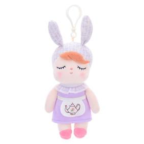 Мягкая кукла - подвеска Angela Purple, 15 см (код товара: 51423): купить в Berni