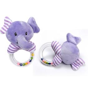 Мягкая погремушка Фиолетовый слонёнок (код товара: 51436): купить в Berni