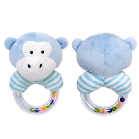 Мягкая погремушка Голубой бегемотик (код товара: 51440): купить в Berni