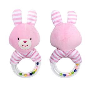 Мягкая погремушка Розовый зайчик (код товара: 51439): купить в Berni