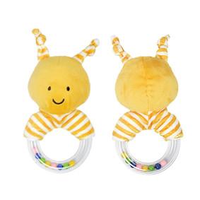 Мягкая погремушка Золотистая пчёлка (код товара: 51443): купить в Berni