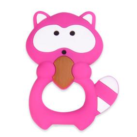 Прорезыватель Енотик, розовый (код товара: 51574): купить в Berni