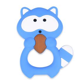 Прорезыватель Енотик, синий (код товара: 51576): купить в Berni