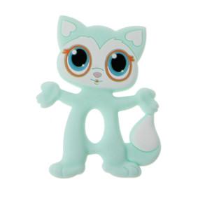Прорезыватель Котёнок, бирюзовый (код товара: 51578): купить в Berni