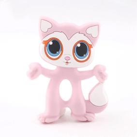 Прорезыватель Котёнок, розовый (код товара: 51577): купить в Berni