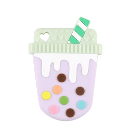 Прорезыватель Молочный коктейль, фиолетовый оптом (код товара: 51593): купить в Berni