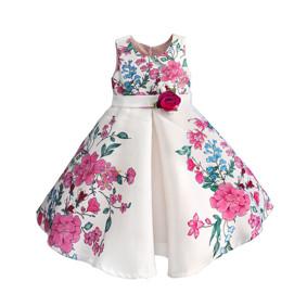Уценка (дефекты)! Платье для девочки Цветочный микс (код товара: 51536): купить в Berni