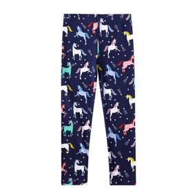 Леггинсы для девочки Ночные лошадки (код товара: 51667): купить в Berni