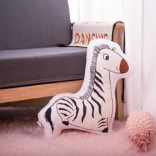 Мягкая игрушка - подушка Игривая зебра, 50см (код товара: 51656)