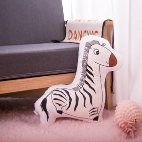 Мягкая игрушка - подушка Игривая зебра, 50см оптом (код товара: 51656): купить в Berni