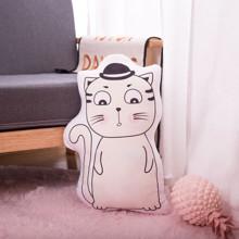 Мягкая игрушка - подушка Задумчивый котик, 50см (код товара: 51654)