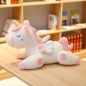 Мягкая игрушка Белый единорог, 45см  (код товара: 51631): купить в Berni