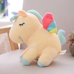 Мягкая игрушка Желтый единорог, 40см (код товара: 51625): купить в Berni