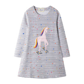 Платье для девочки Единорог и звёзды (код товара: 51670): купить в Berni