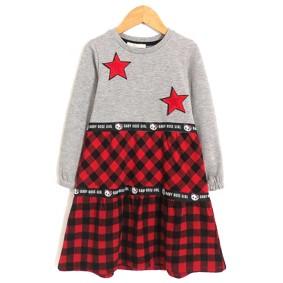 Платье для девочки Красная клетка оптом (код товара: 51668): купить в Berni