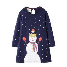 Платье для девочки Снеговичок (код товара: 51665): купить в Berni