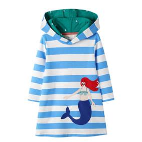 Платье с капюшоном для девочки Мечтательная русалочка (код товара: 51660): купить в Berni