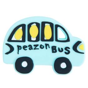 Прорезыватель Автобус, голубой оптом (код товара: 51607): купить в Berni